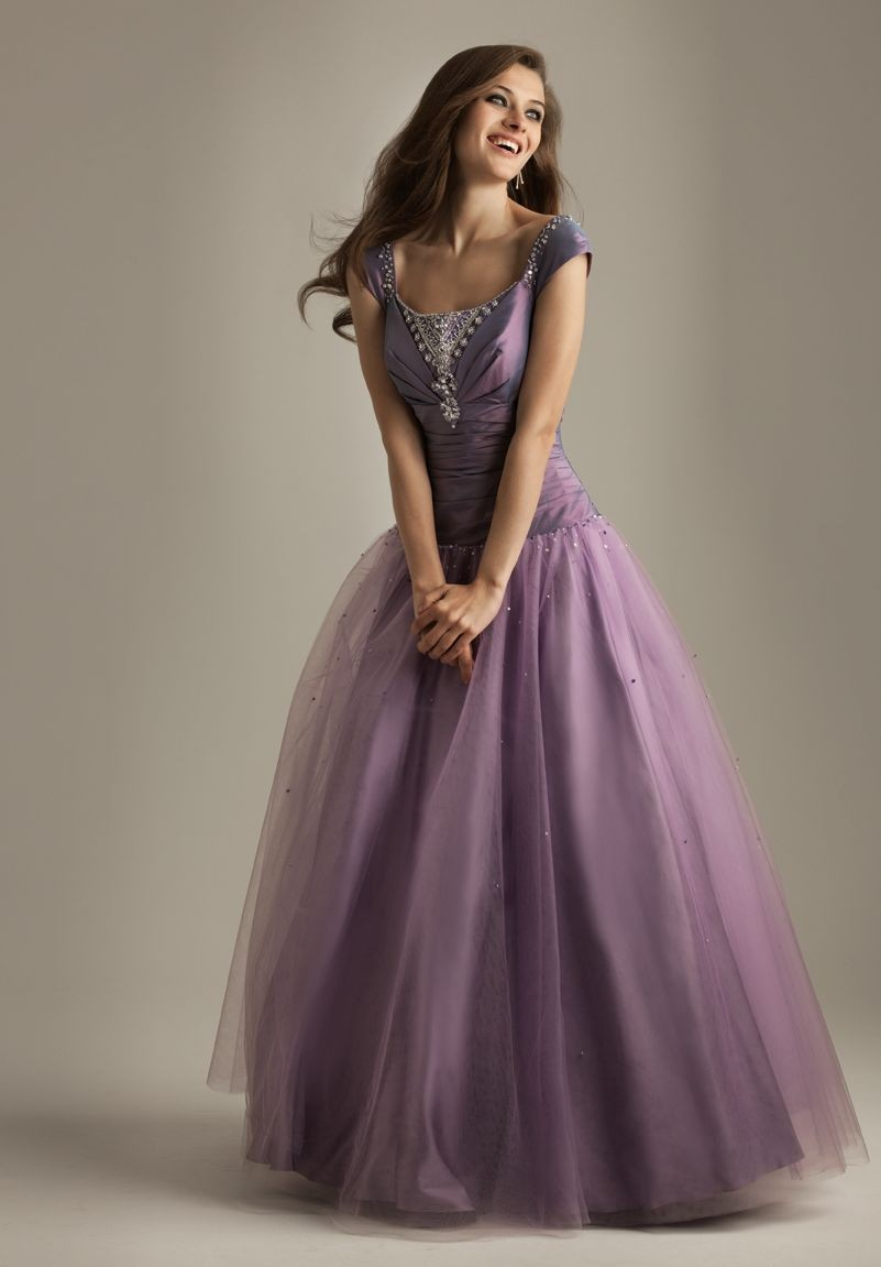 Purple Ball Dresses