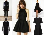 Comely Black Dress