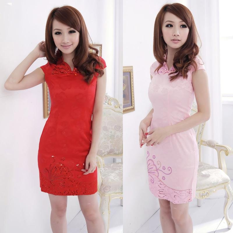 Pretty China Women Dress