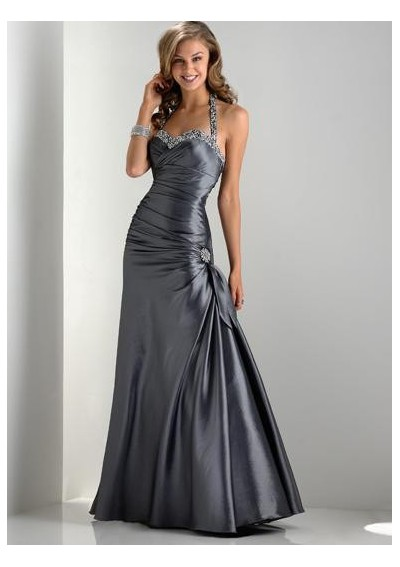 Silky Dresses For Prom