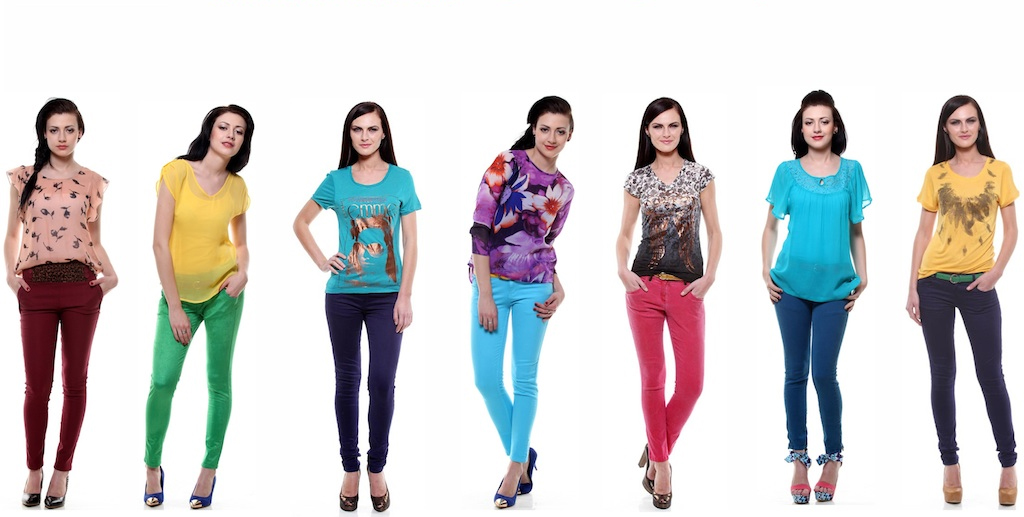 Colorful Fashion Online Shopping