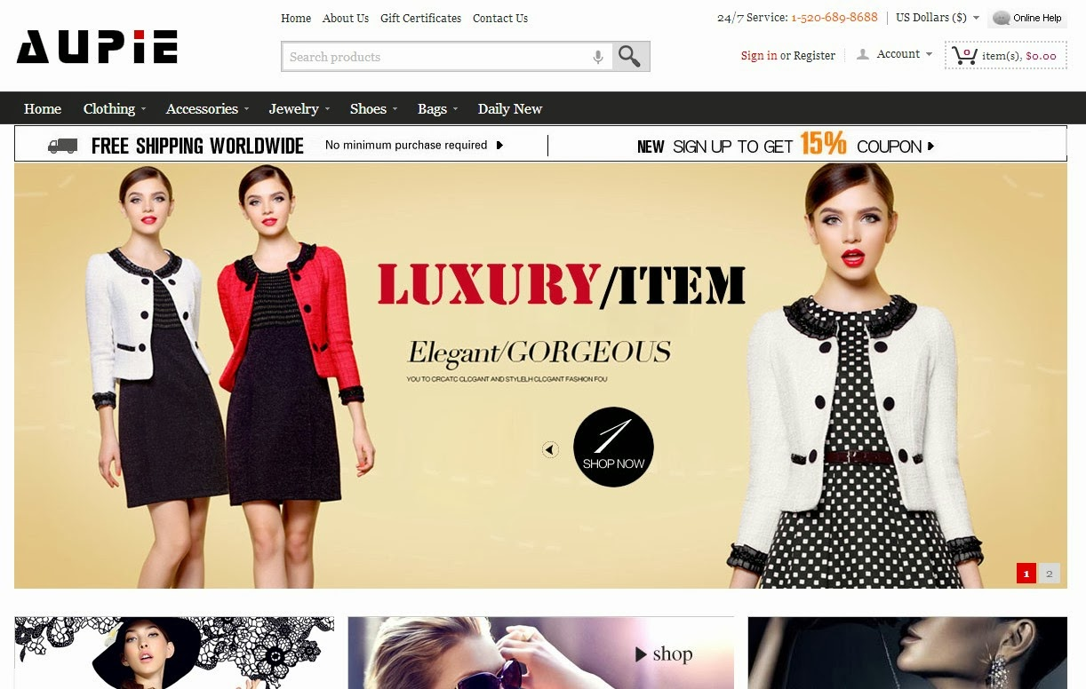 Awesome Fashion Store Online
