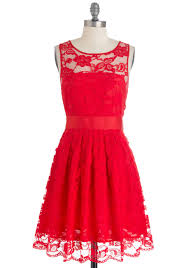 Red Lace Dresses