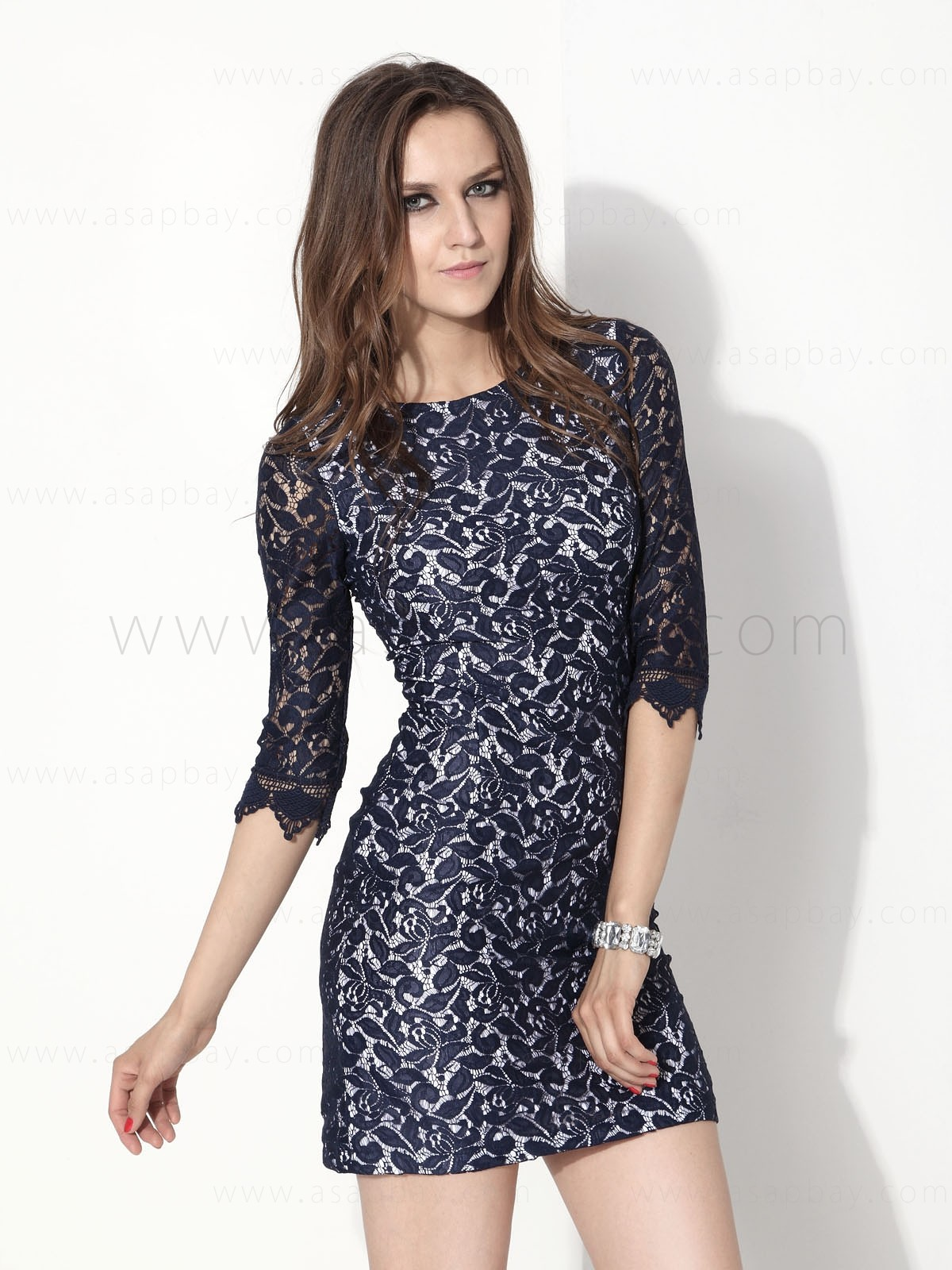 Leaves Ladies Dress