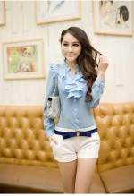 Blue Ladies Fashion Wear