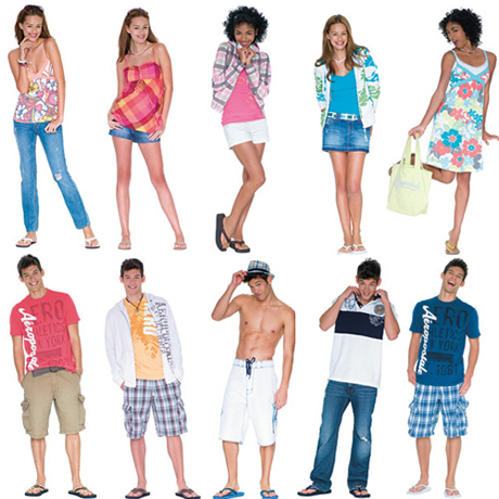Summer Online Clothing Shopping