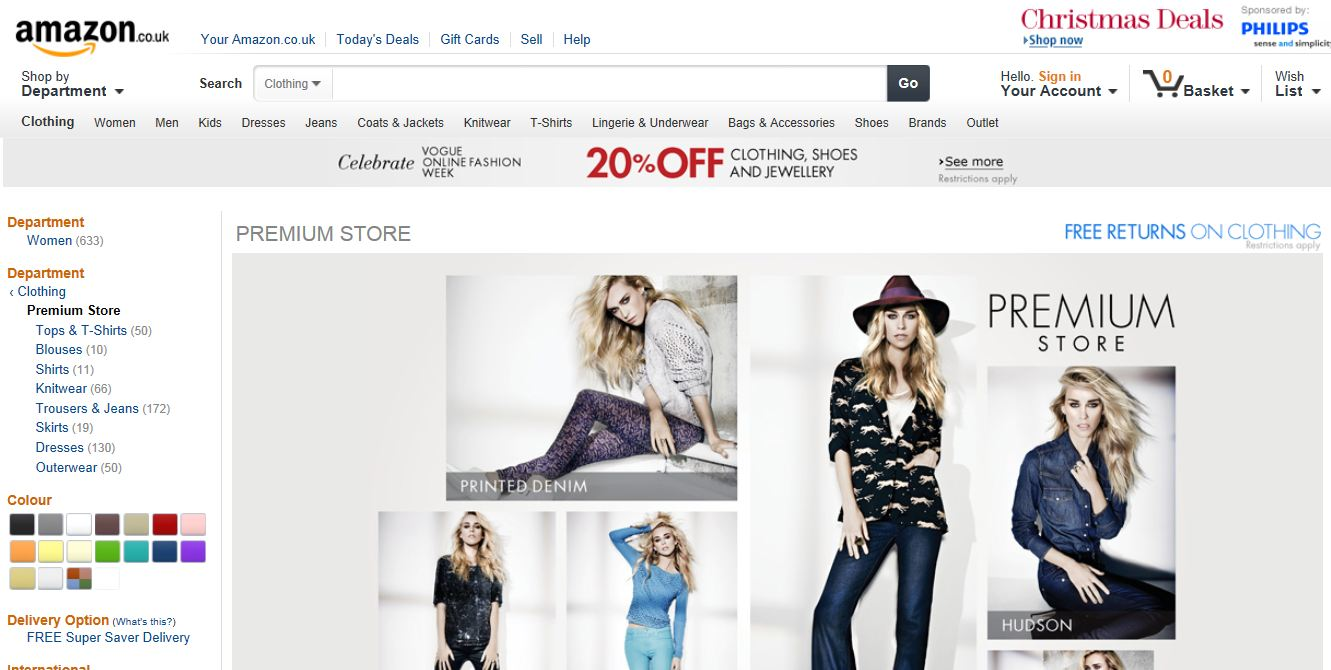 Discount Online Fashion Stores