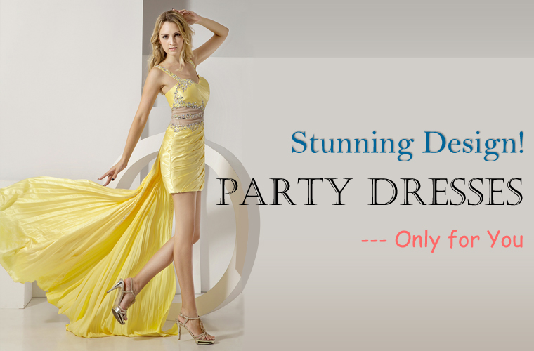 Yellow Party Dress Online