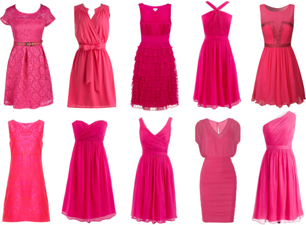 Great Pink Dresses