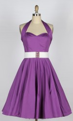 Charming Purple Dress