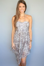 Grey Summer Dress