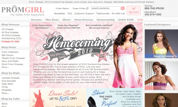 PromGirl Women Clothing Shop
