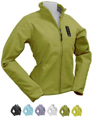 Green Women Jacket