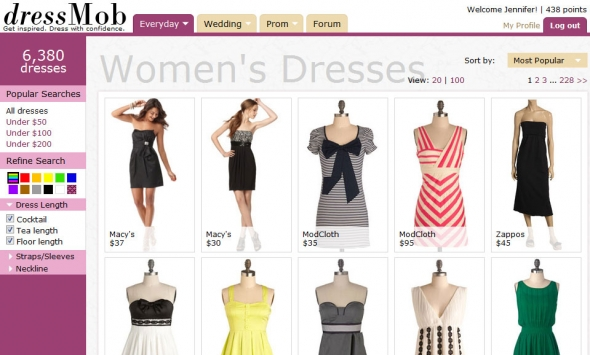 dressMob Clothing Shop Online