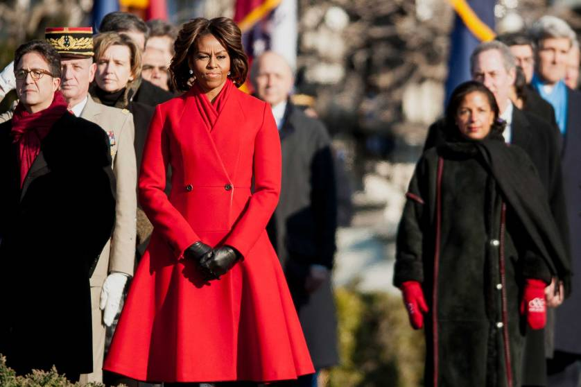 Red First Lady Fashion
