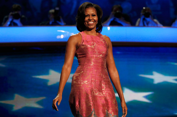 Happy Michelle Obama Fashion