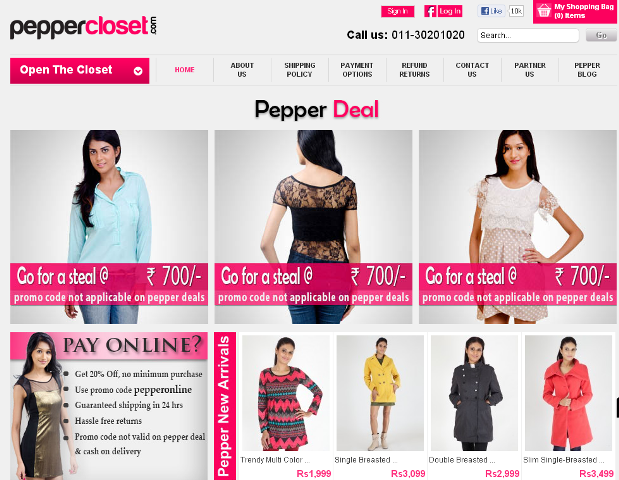 PepperCloset Online Clothing Stores For Women