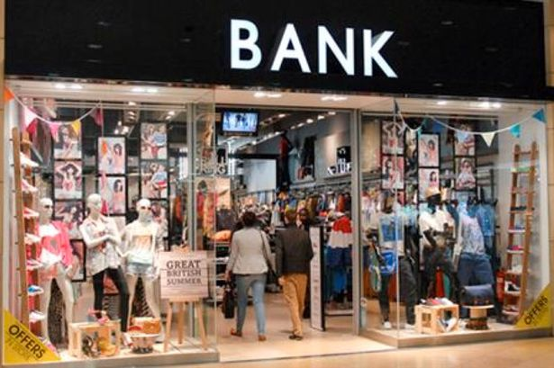 Bank Fashion Clothing Stores