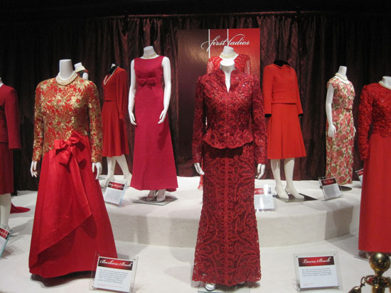 All Red First Lady Dresses