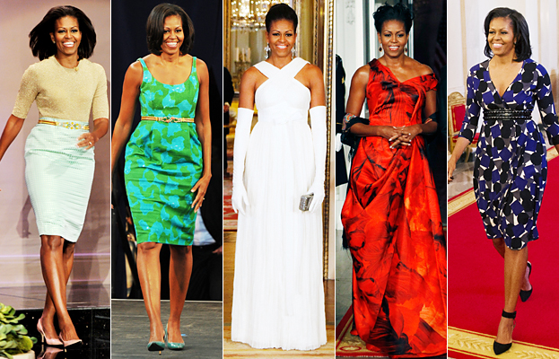 Various Michelle Obama Wardrobe